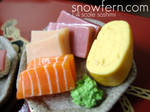 sashimi texture