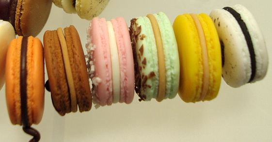 1 4 side view macarons by Snowfern