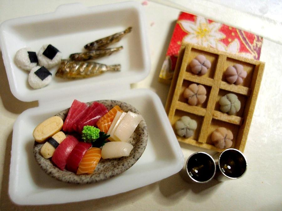 1 12 japanese foods by Snowfern