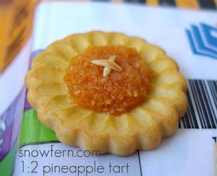 larger pineapple tart by Snowfern