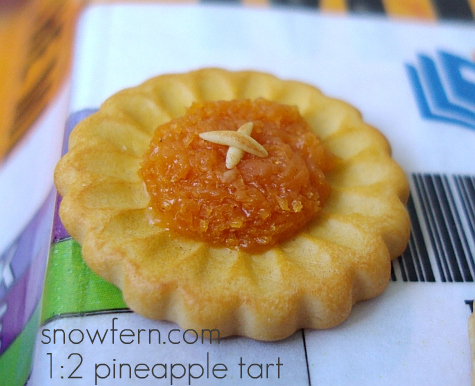 larger pineapple tart by Snowfern