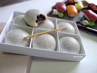 EID sized sushi and mochi set by Snowfern