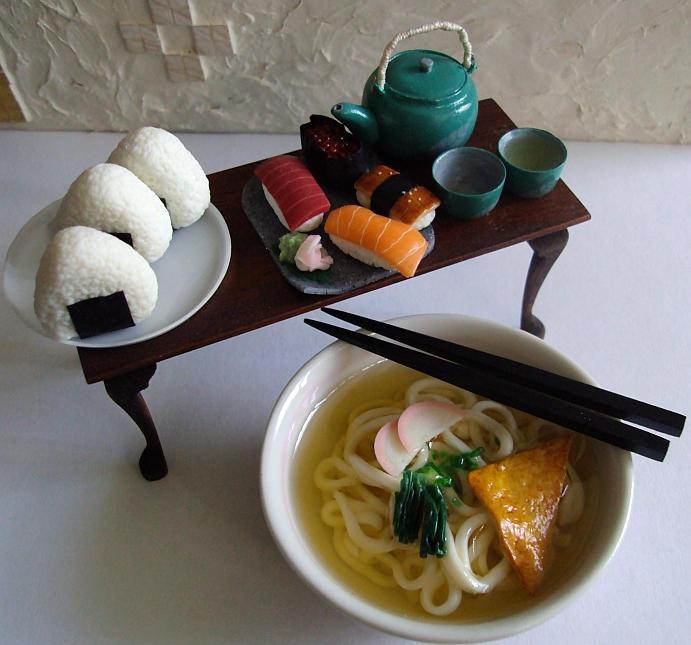 1-3 japanese foods by Snowfern