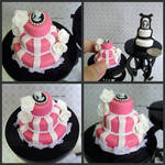 1-12 Pink Cameo Cake