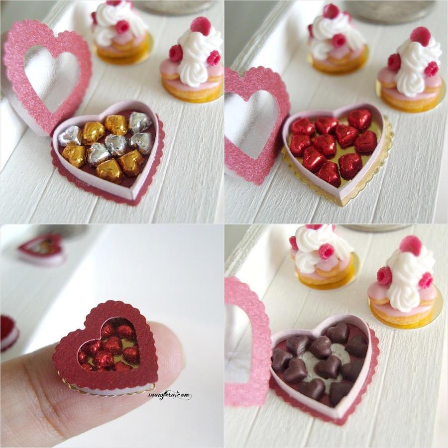 1-12 Valentine's Day Chocs by Snowfern