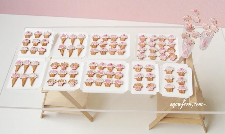 1-12 cupcake cookies by Snowfern