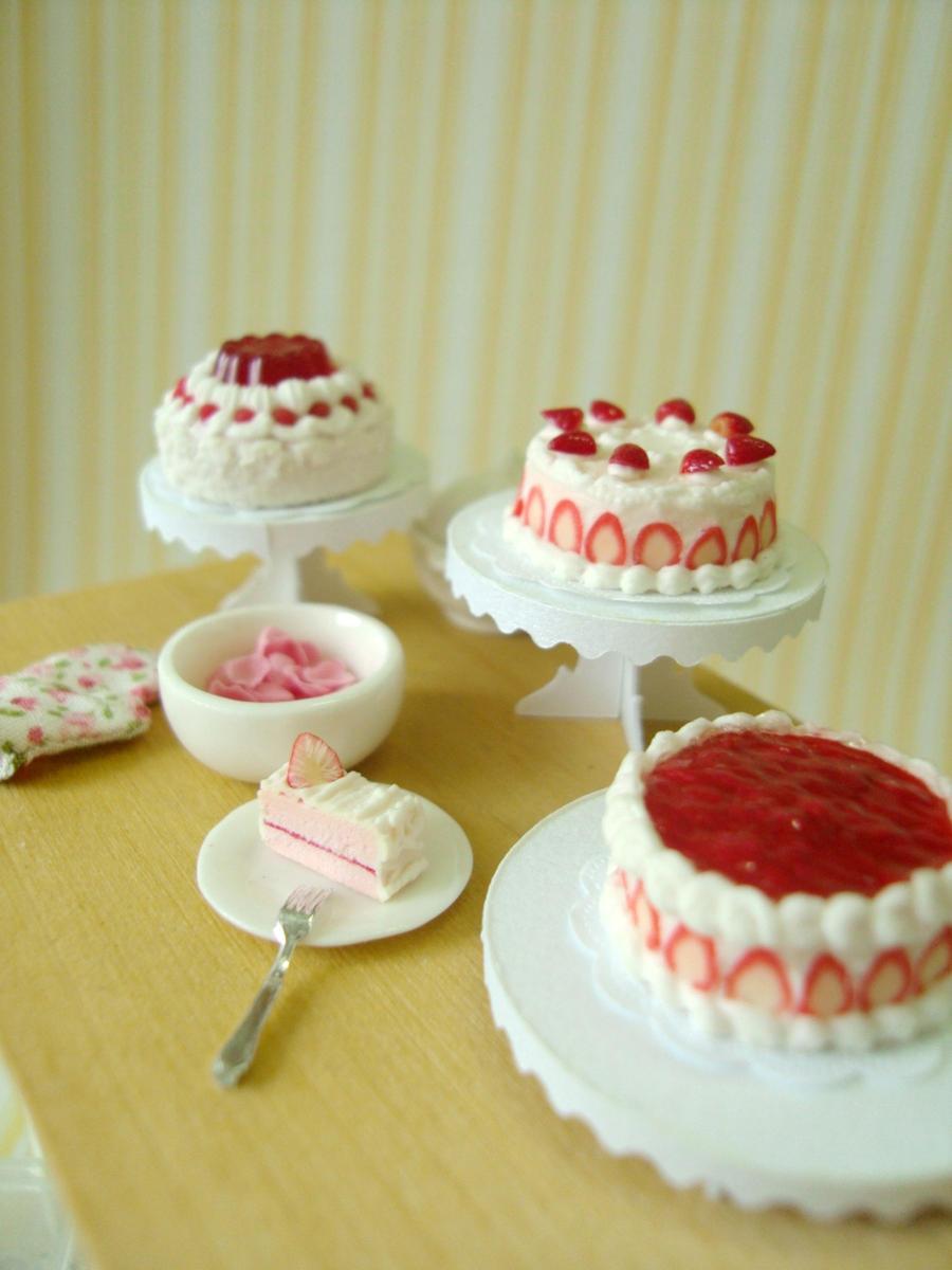 1-12 cakes by Snowfern