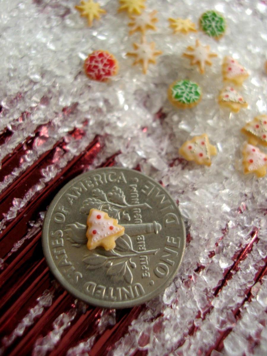 Miniature Christmas Cookies by Snowfern