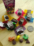 Miniature Chocolates unwrapped 1-3