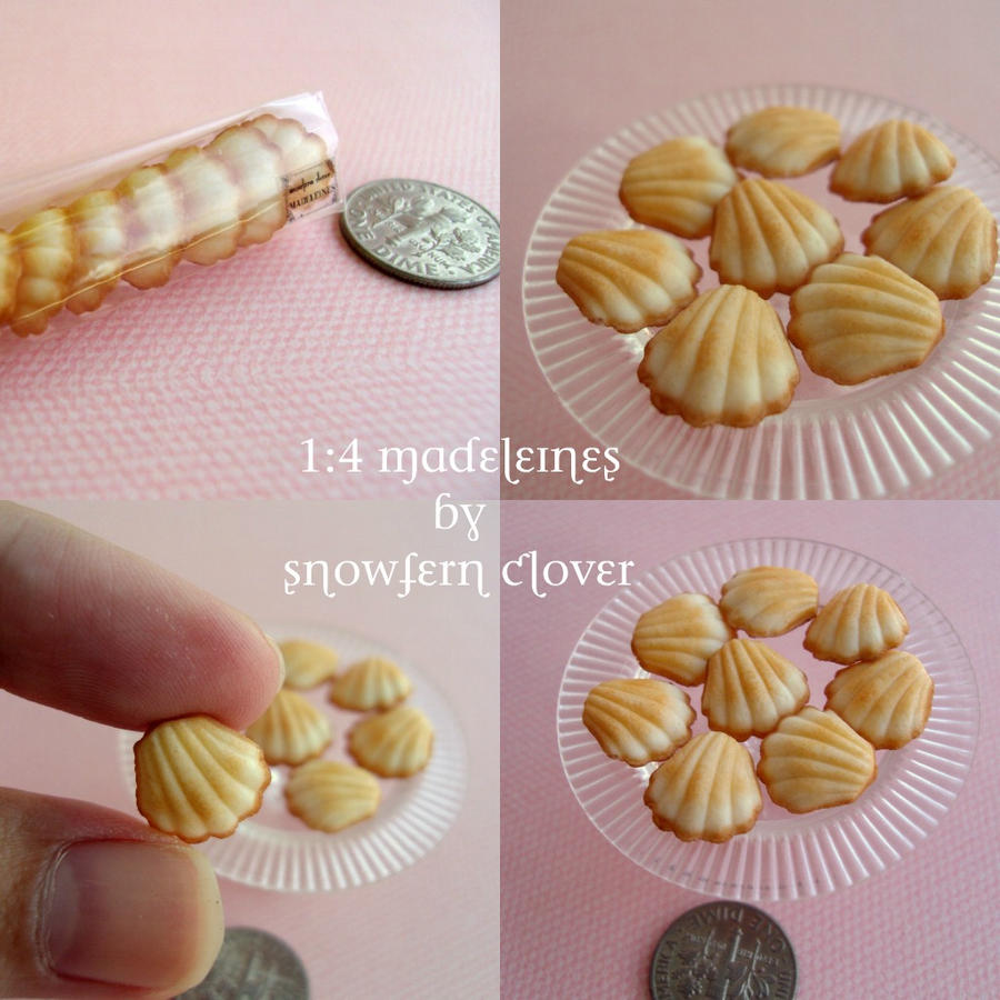 Madeleines for MSD 1-4 by Snowfern