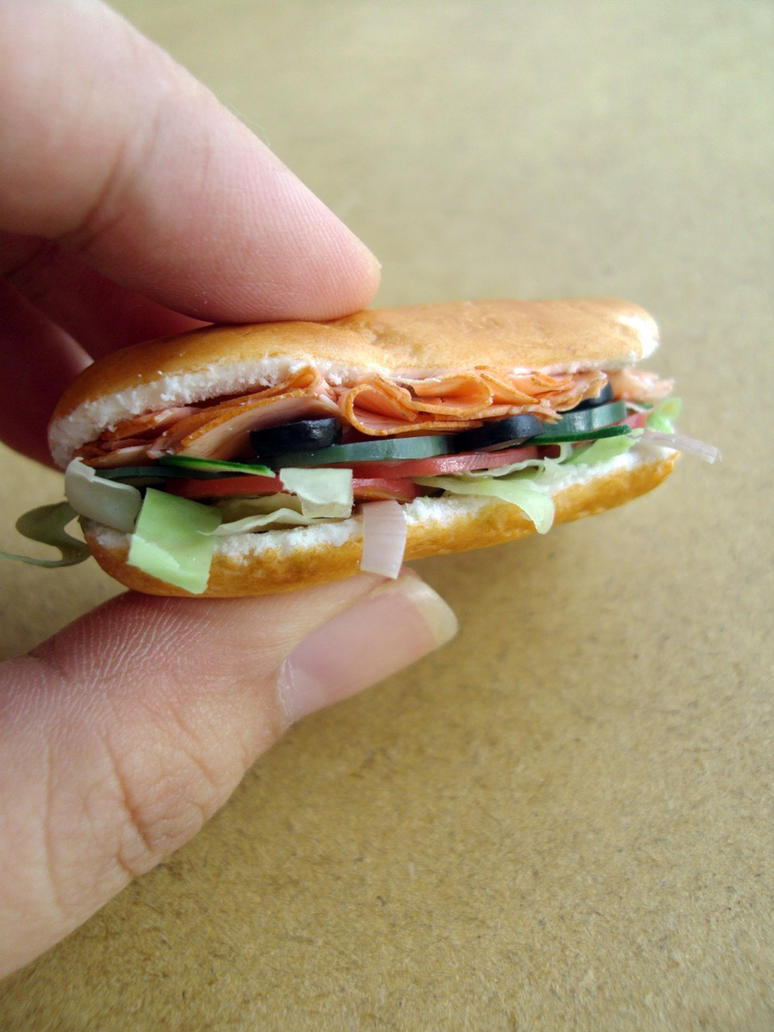 Subway Sandwich 1-3 by Snowfern