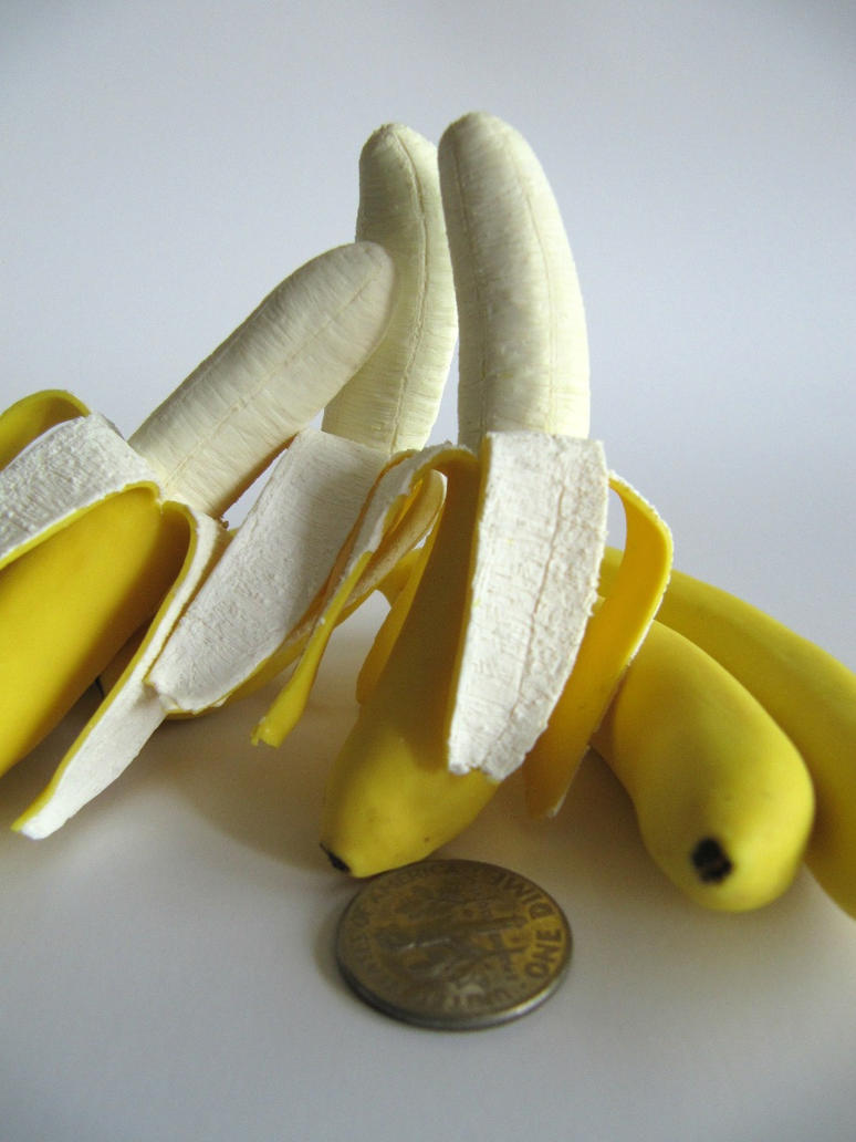 Miniature Banana 1-3 by Snowfern