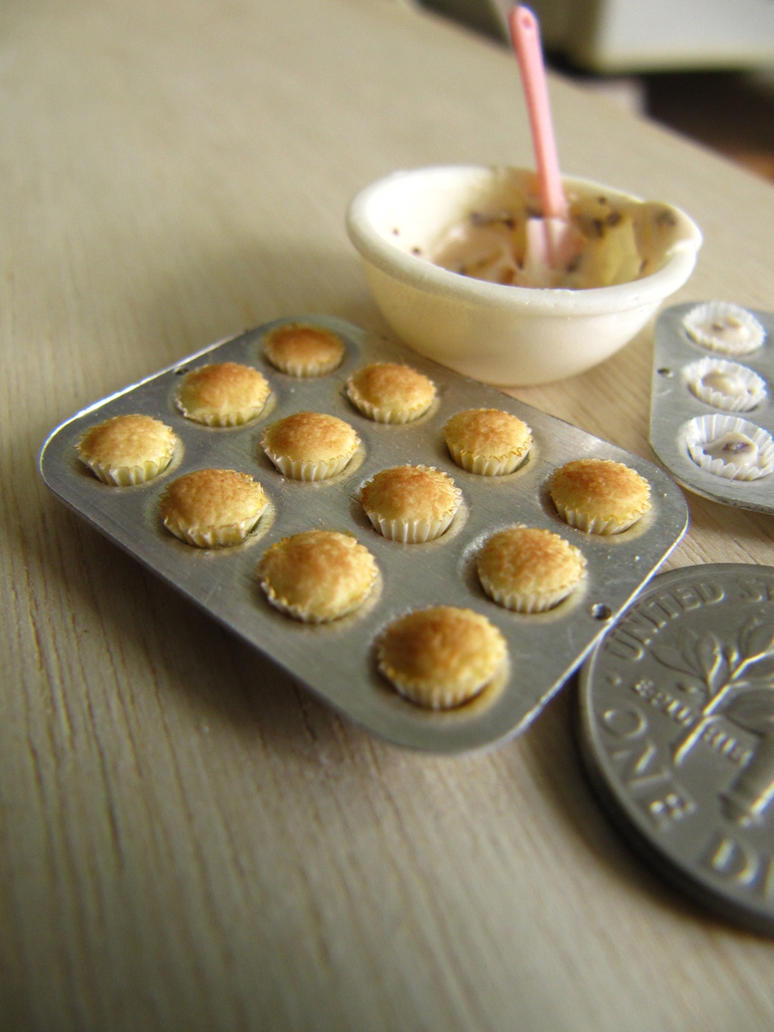 Baking Cupcakes 1-12 by Snowfern