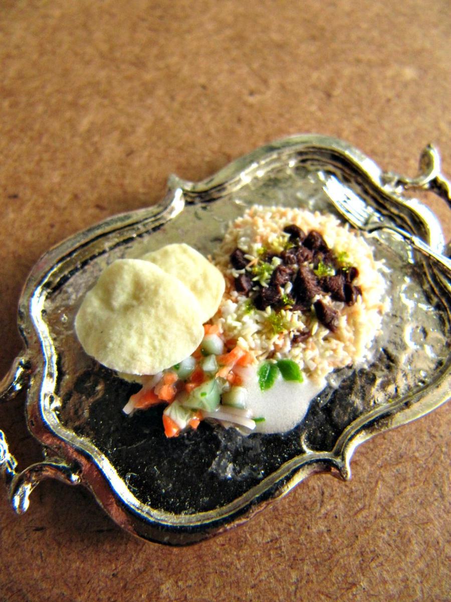 Miniature Nasi Biryani 1-12 by Snowfern