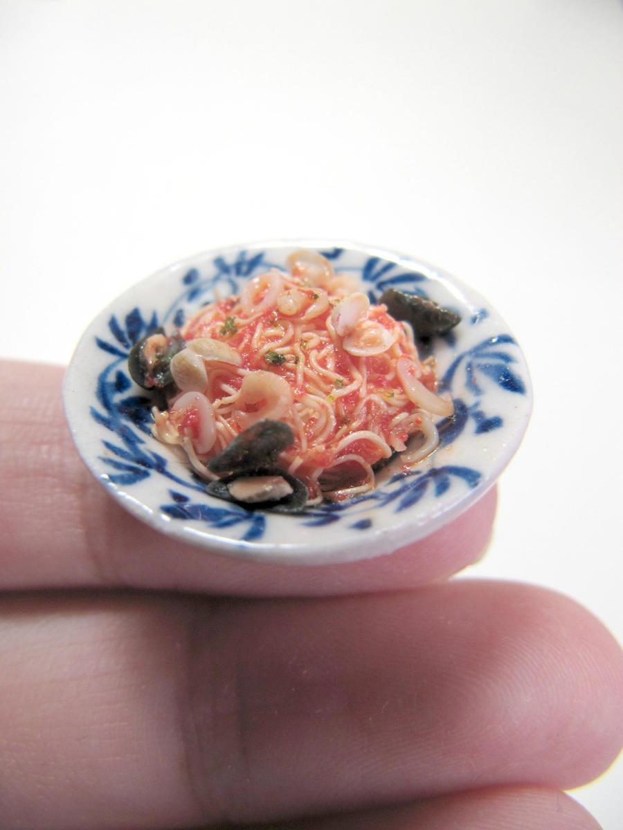 1-12 miniature spaghetti marinara by Snowfern