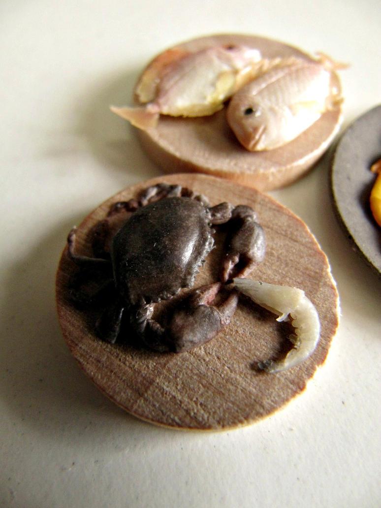 WIP 1-12 Mud Crab and Prawn by Snowfern