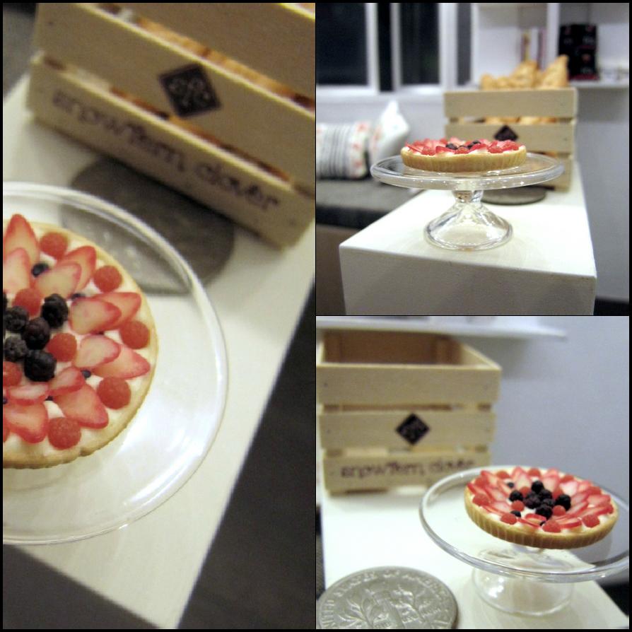 1-12 Mixed Berries Tart by Snowfern