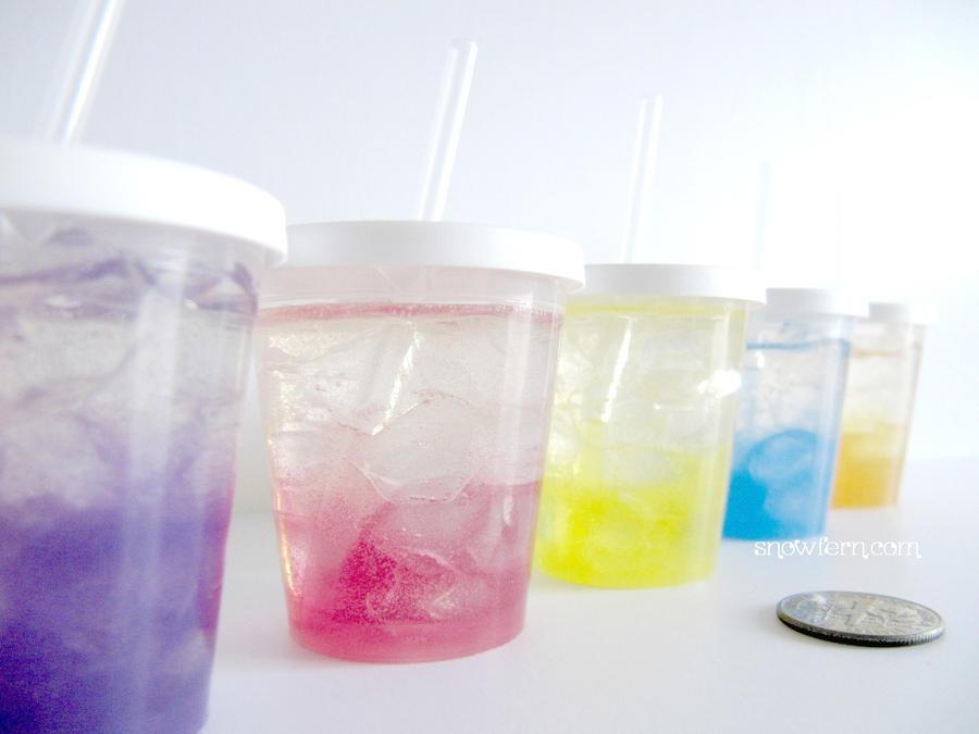1-3 Miniature Drinks by Snowfern