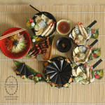 1:3 scale miniature Japanese Foods for SGDC2014