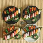 1:3 scale miniature Sushi sets for SGDC2014