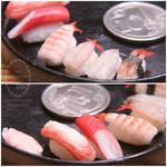 1:6 scale assorted miniature sushi 1