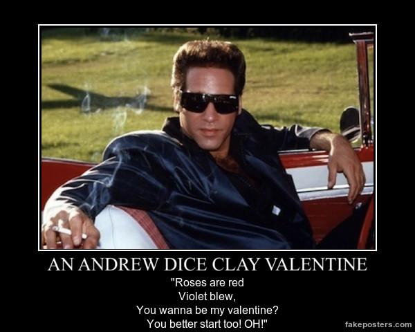 a Diceman valentine. OH!
