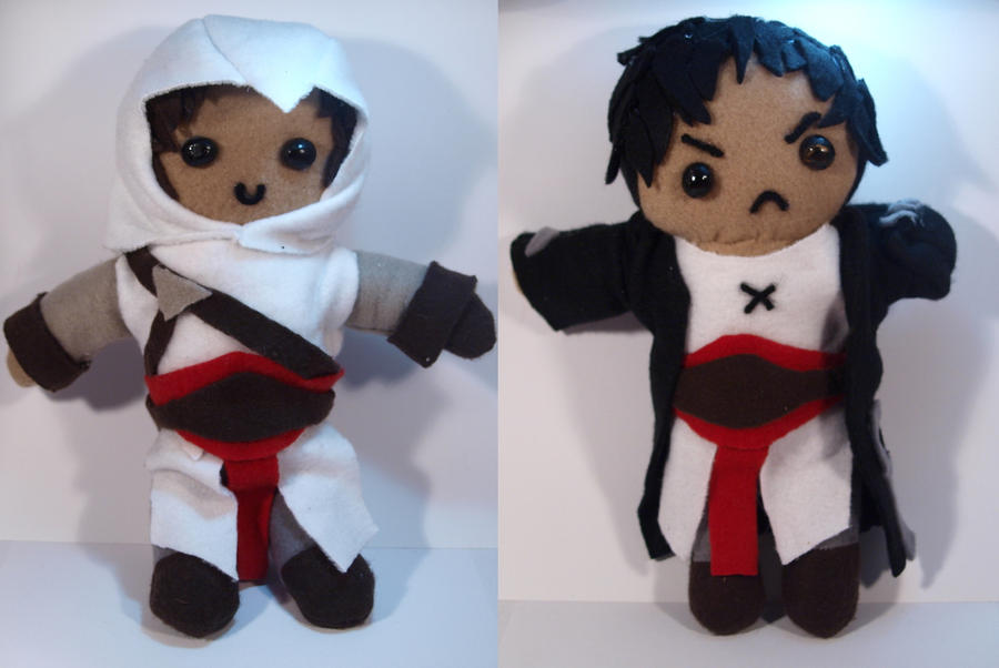 Assassin's Creed Plushies by zahnpasta
