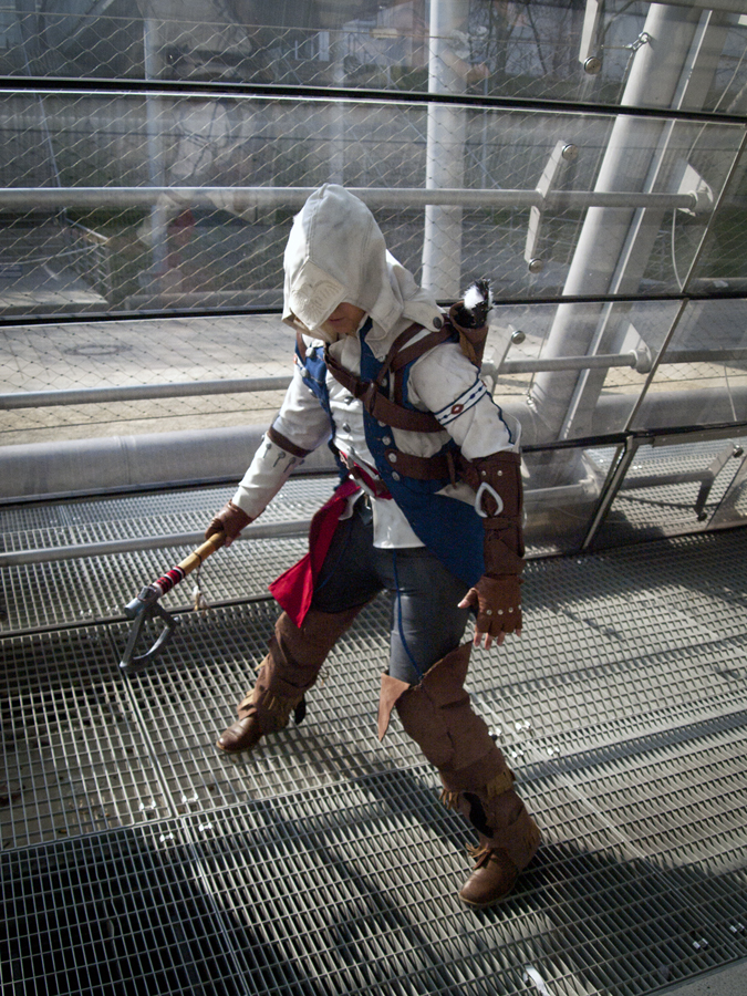 Assassin S Creed Iii Connor Cosplay By Zahnpasta On Deviantart