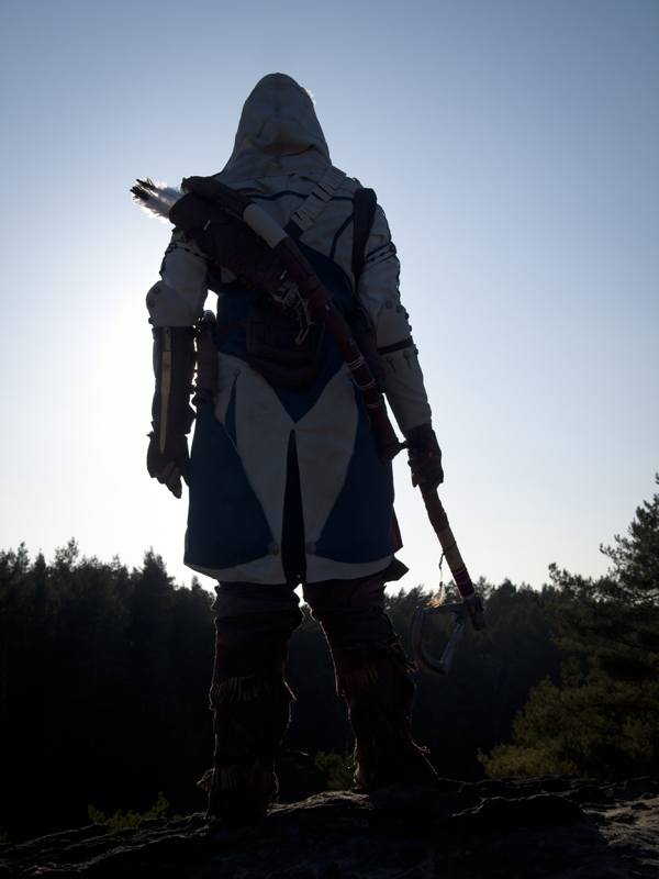 Connor Cosplay - The hunt by zahnpasta