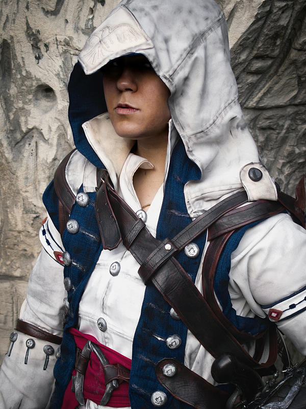 Connor Cosplay - Freedom Fighter by zahnpasta