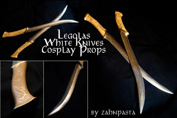 Legolas Cosplay Props by zahnpasta