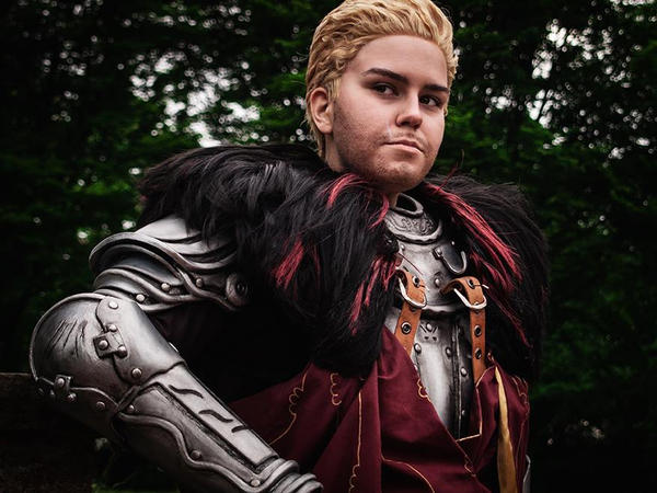 Cullen Cosplay - Lion of Skyhold by zahnpasta