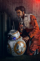 Star Wars - Poe Dameron Cosplay and BB-8 02