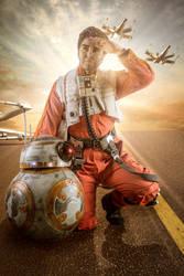 Poe Dameron Cosplay 02 - Star Wars