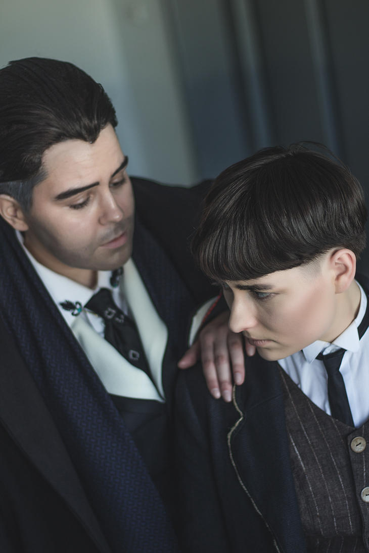 Gradence Cosplay - Graves x Credence by zahnpasta