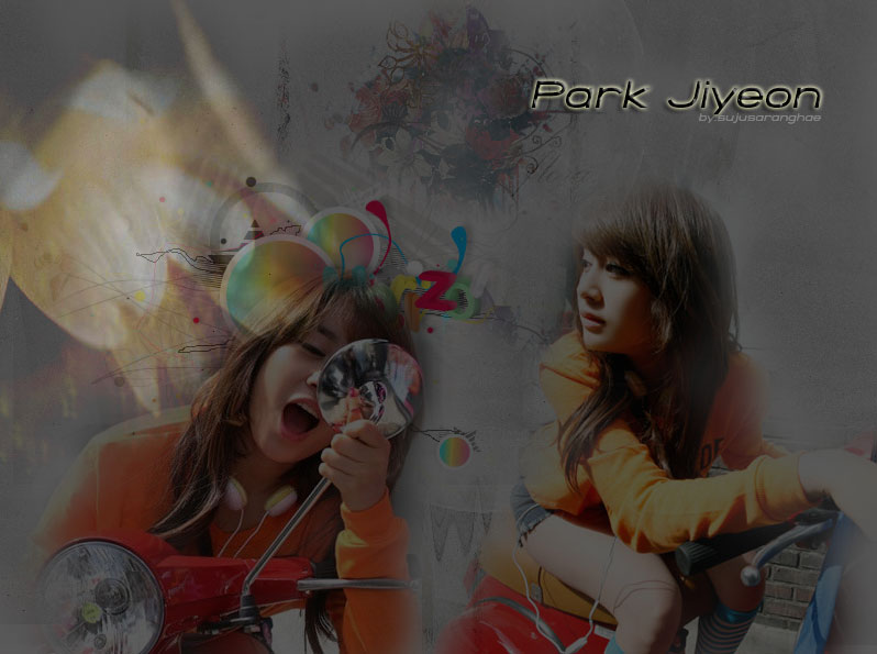 Park jiyeon strip video