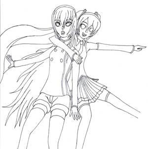 Miku+Luka(Outline)