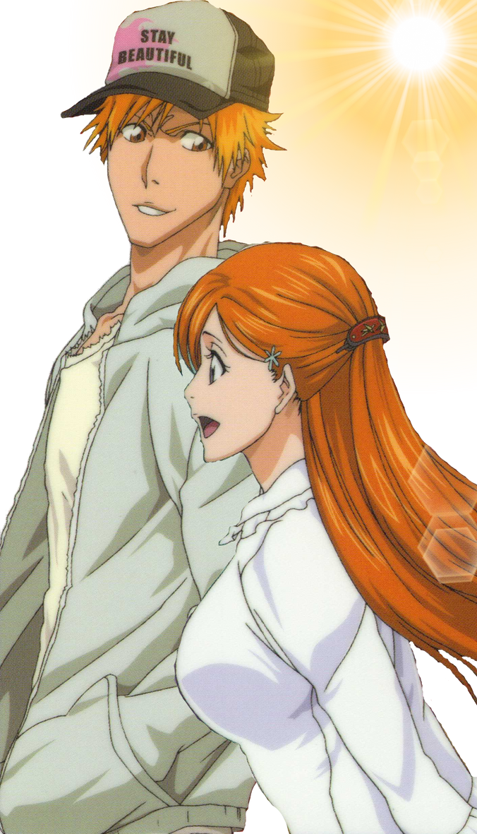 ichigo and orihime by Bleach-Fairy on DeviantArt