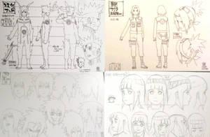 Naruto,Sakura,Sasuke and Hinata rtn by Bleach-Fairy