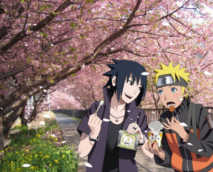 sasuke x naruto rtn by Bleach-Fairy