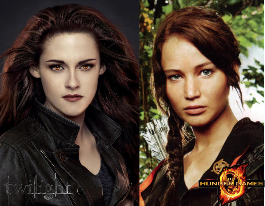 which do you prefer bella or Katniss? by Bleach-Fairy