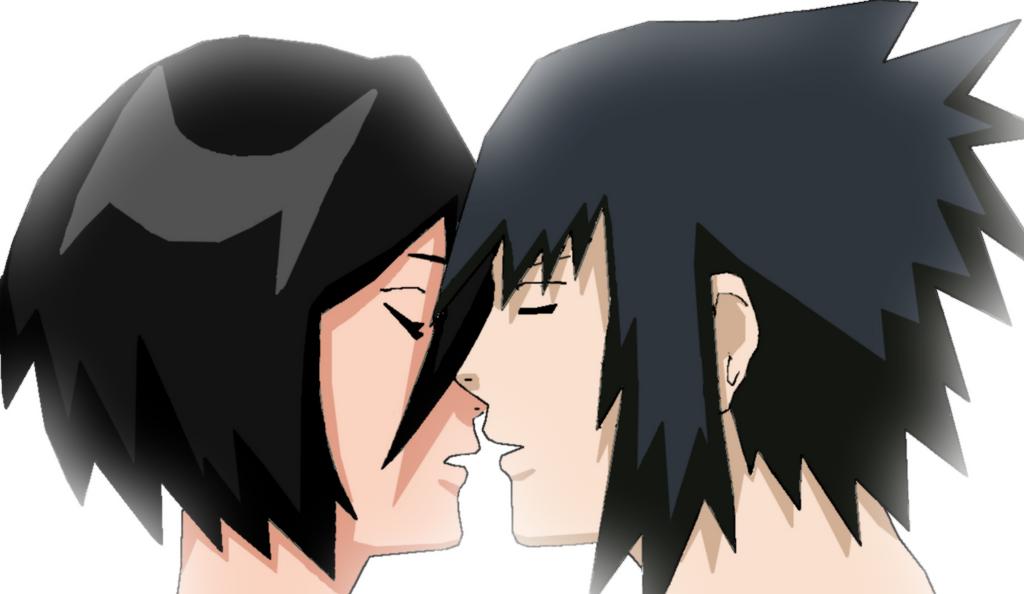 sasuruki kiss by Bleach-Fairy