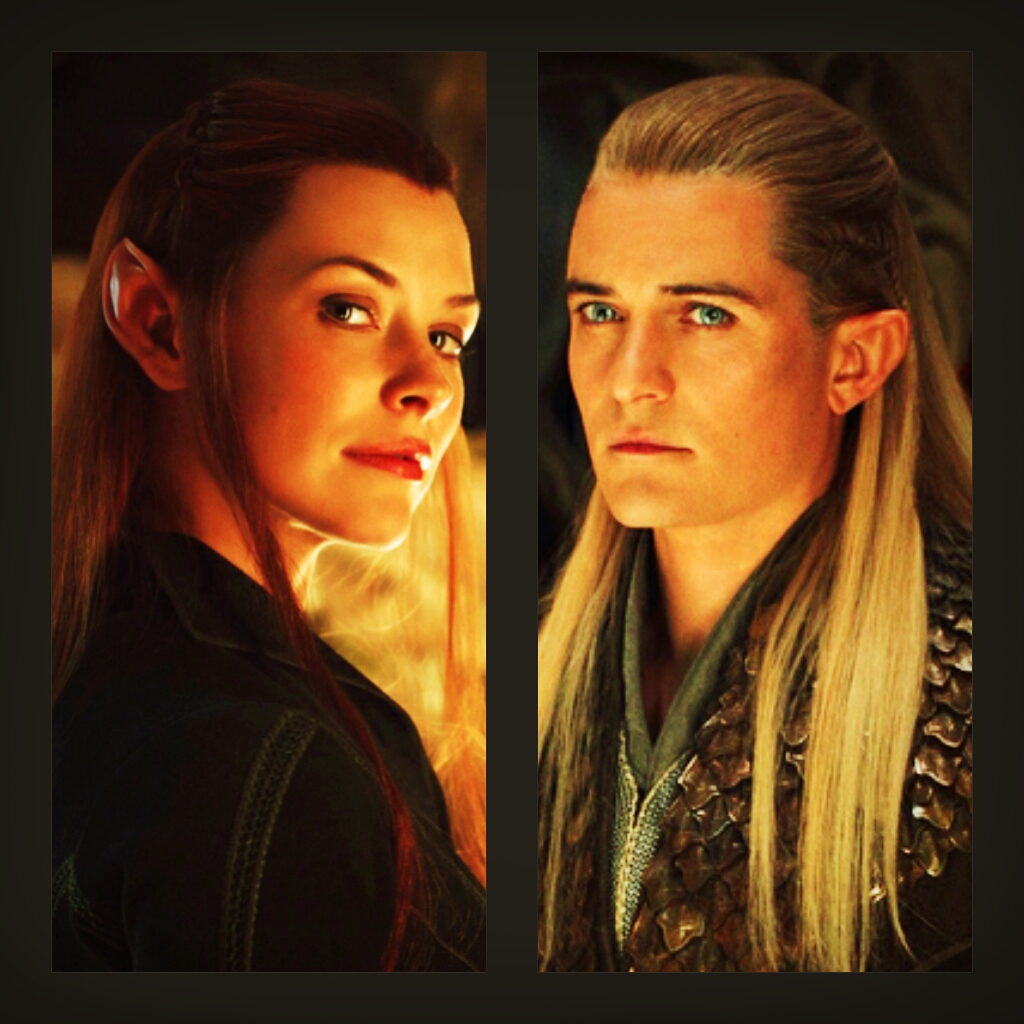 Tauriel and Legolas by Bleach-Fairy on DeviantArt
