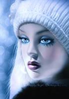 Winter's Blues by HappyAngel