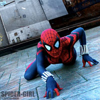 Spider-Girl cosplay by burningdreams76