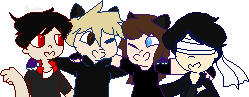 Pixel Group Commission for ShinyGiratinaAster by ShitpostSam