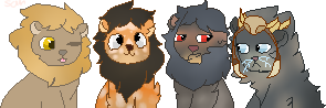 Pixel Group Commission for FrazzledFrost by ShitpostSam