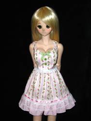 Rosebud Stripes Lolita Dress by Rasmirin