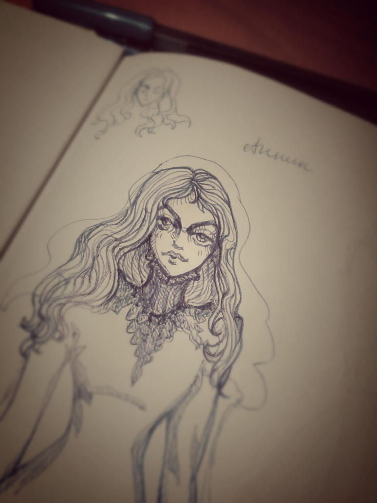 Sketch. Annik by Marsellia