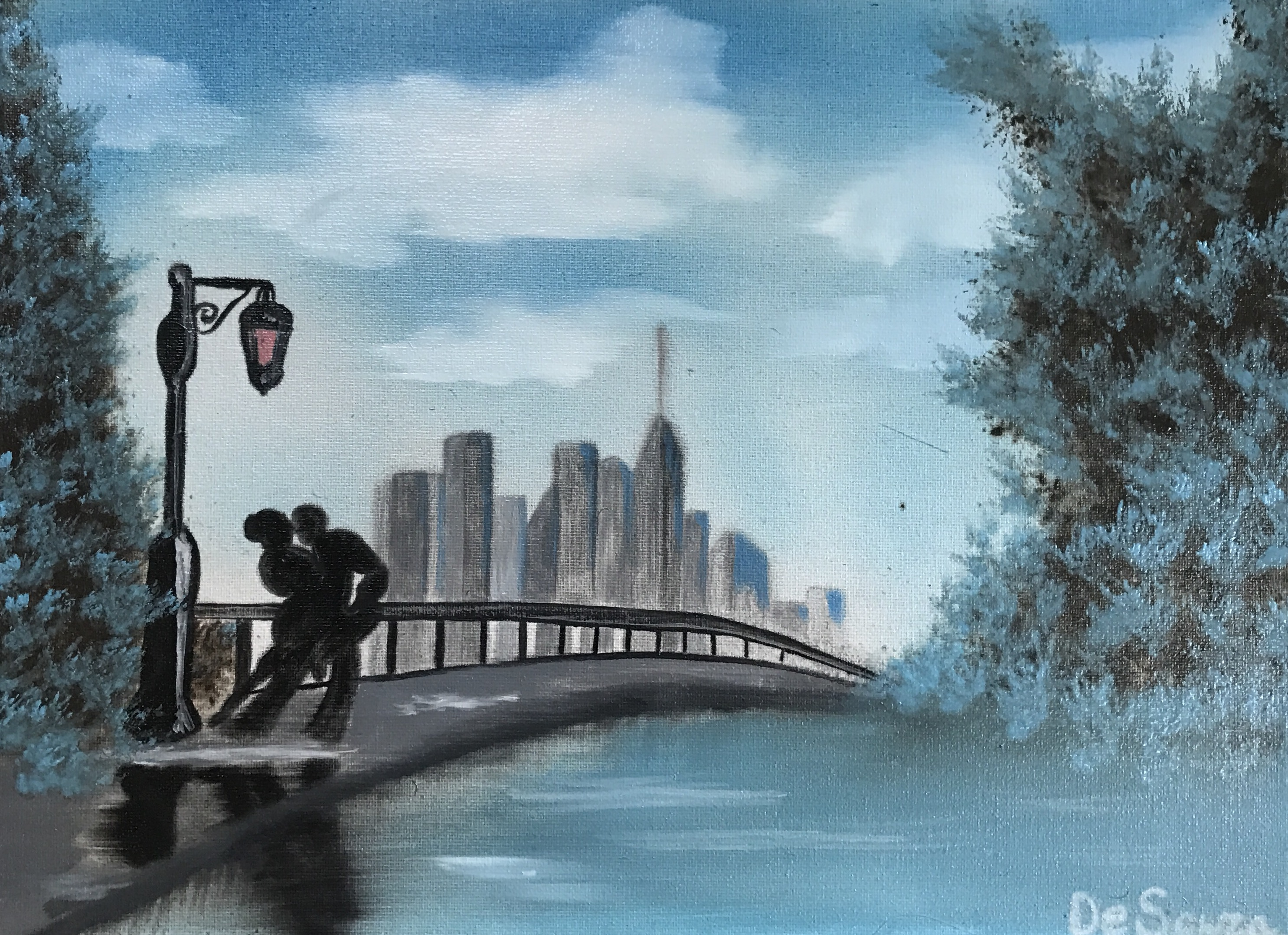 Oil on canvas by Davethepioneer